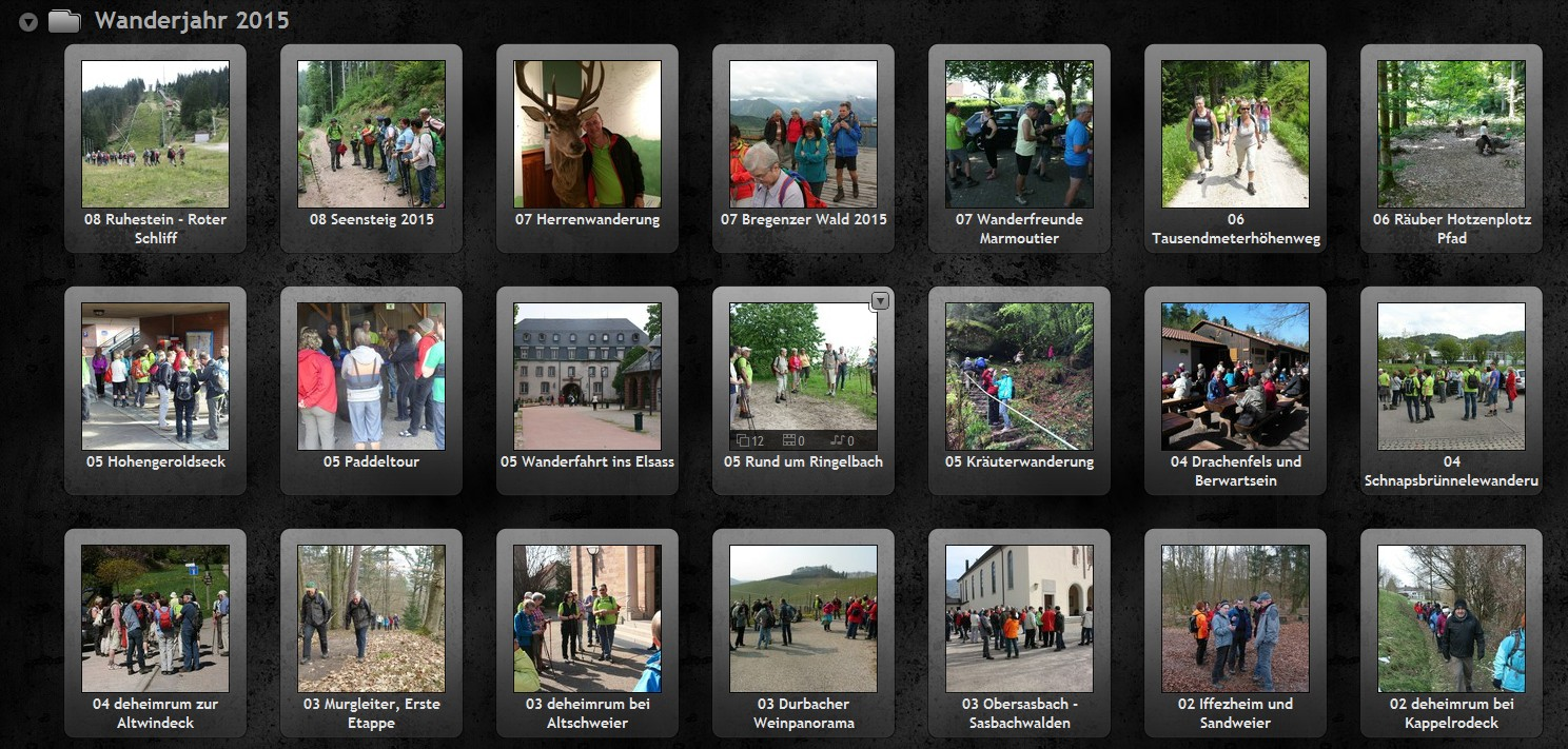 Unser Online-Fotoalbum